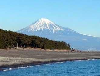 富士山と三保の松原