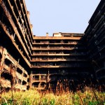 軍艦島の廃墟
