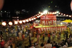 地蔵盆 盆踊り