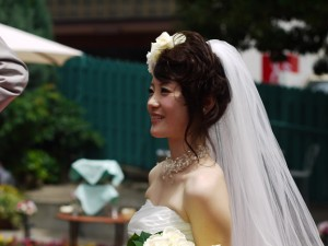 花嫁 ヘアアレンジ