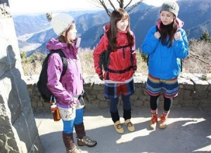 山ガールファッション