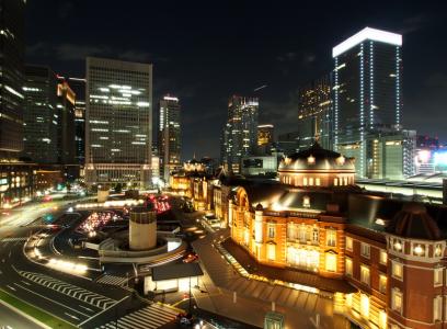 東京駅夜景レストラン