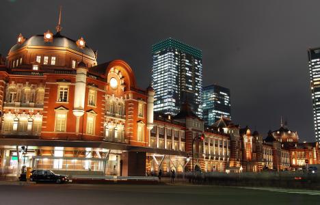 東京駅夜景レストラン2
