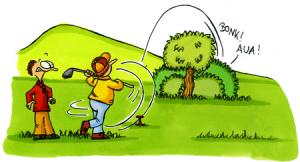 【ゴルフ】ロストボールのペナルティは1打?2打?実はどちらも正しい理由