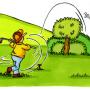ゴルフ OB