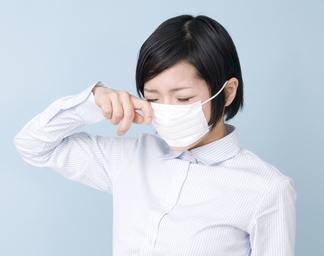 秋花粉症のマスク予防