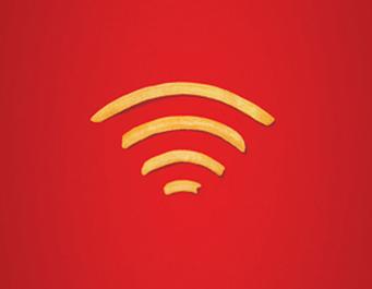 マクドナルドでWiFiを使った時の速度は設置店により違う?
